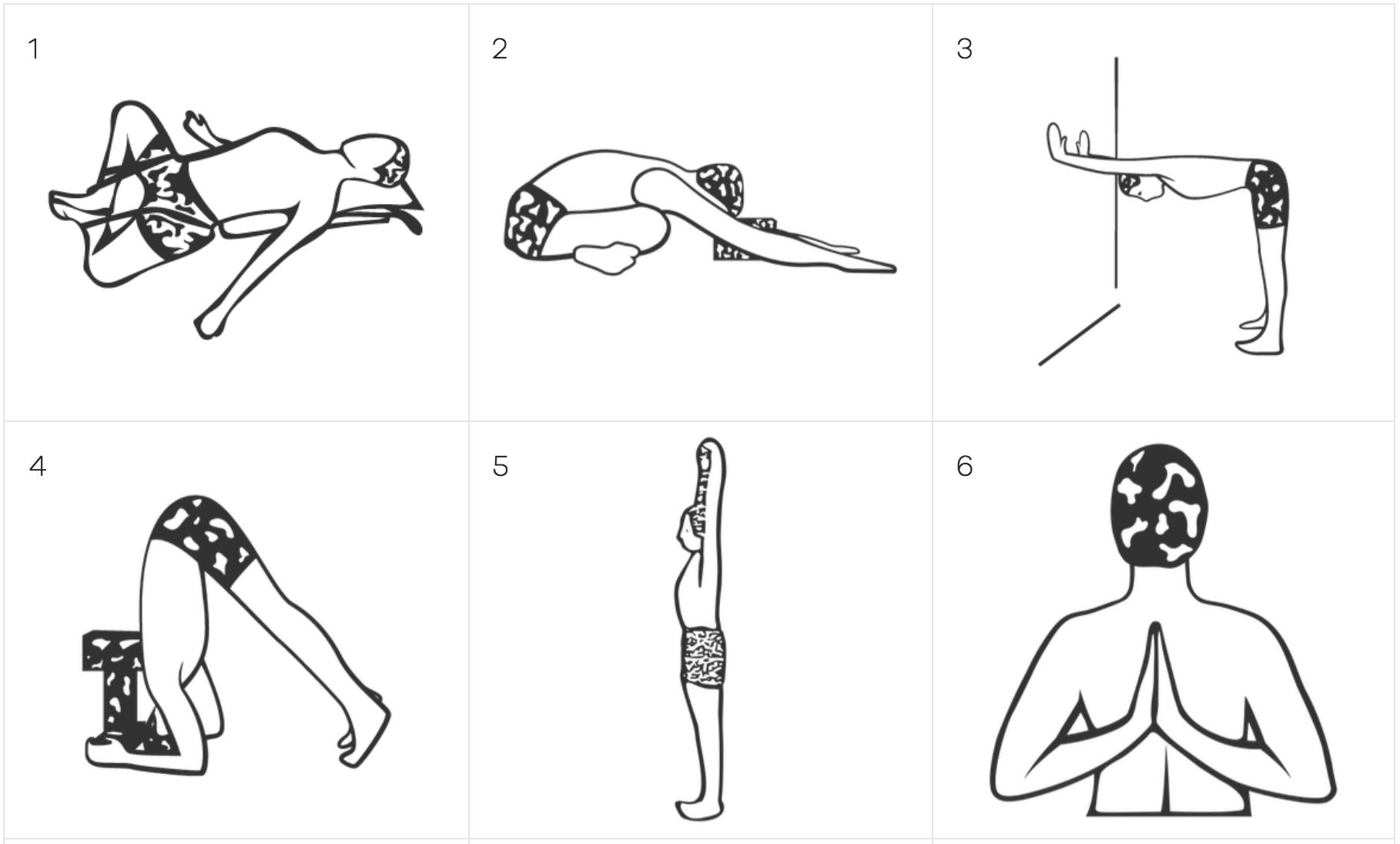 Yoga Vastu Iyengar Yoga online sequences